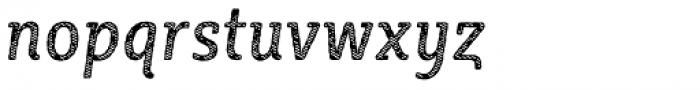 Sybilla Stroke Pro Condensed Regular Italic Font LOWERCASE