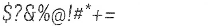 Sybilla Stroke Pro Condensed Thin Italic Font OTHER CHARS