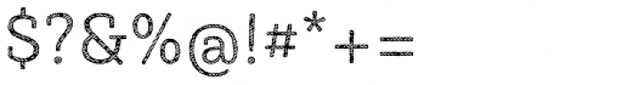 Sybilla Stroke Pro Light Font OTHER CHARS