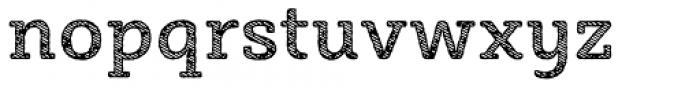 Sybilla Stroke Pro Medium Font LOWERCASE