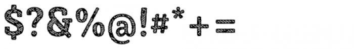 Sybilla Stroke Pro Narrow Bold Font OTHER CHARS