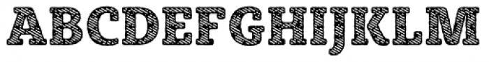 Sybilla Stroke Pro Narrow Heavy Font UPPERCASE