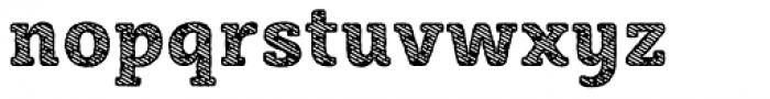 Sybilla Stroke Pro Narrow Heavy Font LOWERCASE