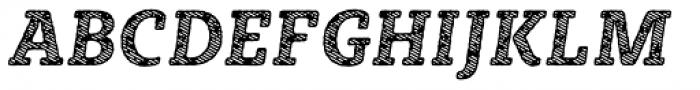 Sybilla Stroke Pro Narrow Italic Font UPPERCASE