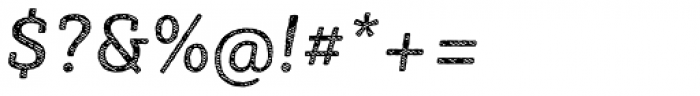 Sybilla Stroke Pro Regular Italic Font OTHER CHARS