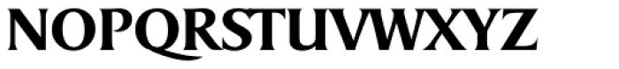 Sydney Serial Medium Font UPPERCASE