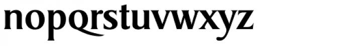 Sydney Serial Medium Font LOWERCASE