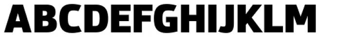 Syke Black Font UPPERCASE
