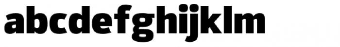 Syke Black Font LOWERCASE