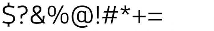 Syke Light Font OTHER CHARS