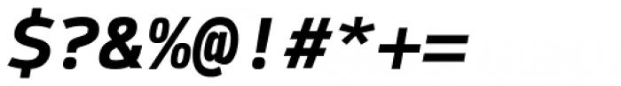 Syke Mono Bold Italic Font OTHER CHARS