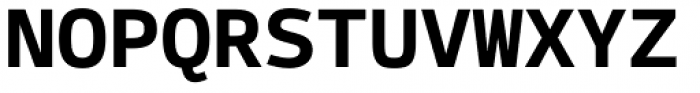 Syke Mono Bold Font UPPERCASE