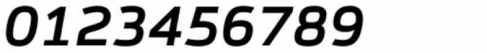Syke Mono Medium Italic Font OTHER CHARS