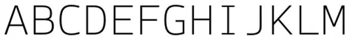 Syke Mono Thin Font UPPERCASE