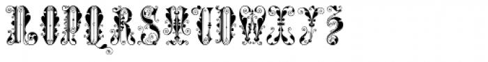 Syl Font UPPERCASE