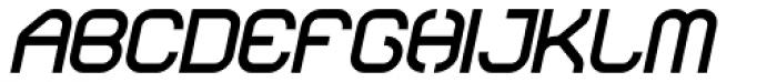 Sylar Black Italic Font UPPERCASE