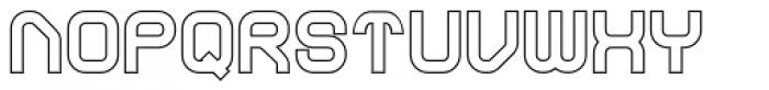Sylar Outline Font UPPERCASE