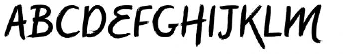 Symbah Regular Font UPPERCASE