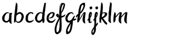 Symbah Regular Font LOWERCASE