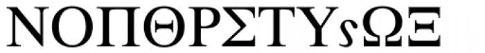 Symbol Proportional Font UPPERCASE
