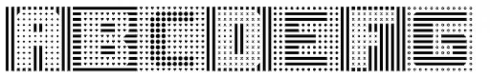 Symcaps Vario X1 Font UPPERCASE