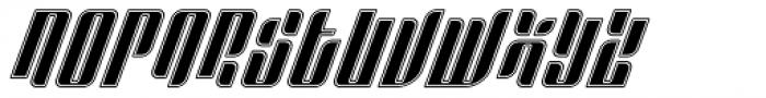 Sympathetic 04 Body Inline Italic Font UPPERCASE