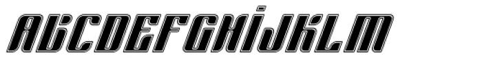 Sympathetic 04 Body Inline Italic Font LOWERCASE