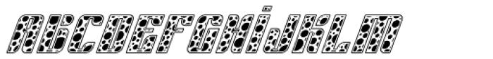 Sympathetic 10 Circle Italic Font LOWERCASE