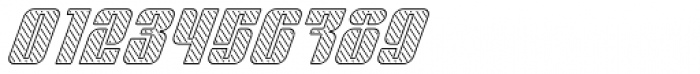 Sympathetic 20 Slant Left Line Italic Font OTHER CHARS