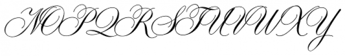 Symphony Pro Regular Font UPPERCASE