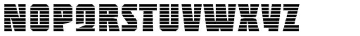 Sync Stripes Font UPPERCASE