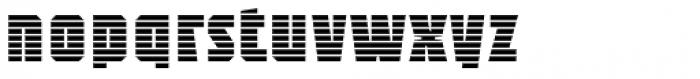 Sync Stripes Font LOWERCASE