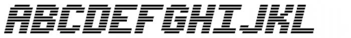 Synchronous AOE Italic Font UPPERCASE