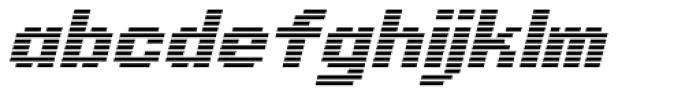 Synchronous AOE Italic Font LOWERCASE