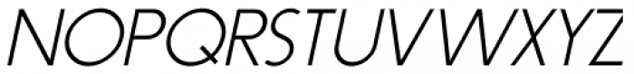 Syndication Oblique JNL Font UPPERCASE
