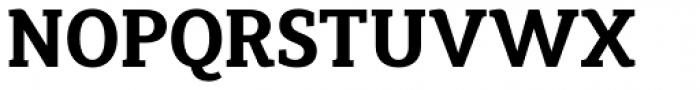 Synerga Pro Bold Font UPPERCASE