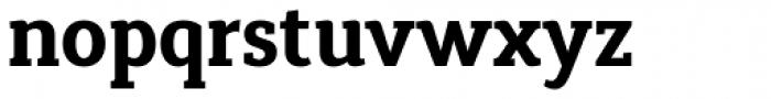 Synerga Pro Bold Font LOWERCASE