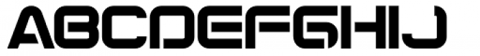 Synthesis Regular Font UPPERCASE