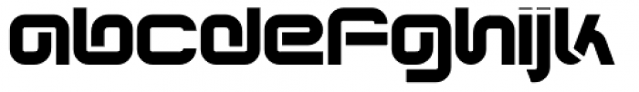 Synthesis Regular Font LOWERCASE