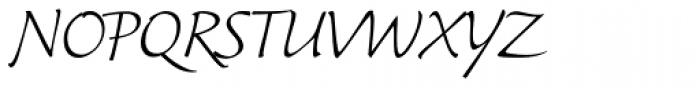 Synthetica Regular Font UPPERCASE