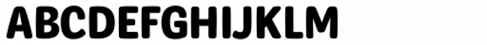 Syrup Sans Bold Font UPPERCASE