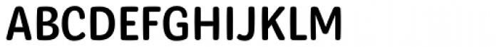 Syrup Sans Regular Font UPPERCASE