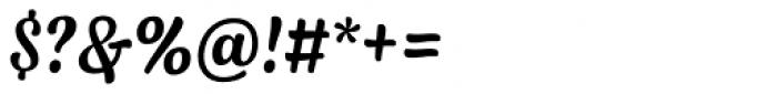 Syrup Script Regular Font OTHER CHARS