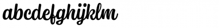 Syrup Script Regular Font LOWERCASE