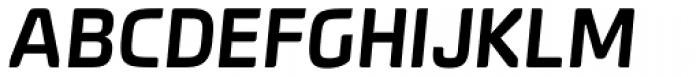 Systopie SemiBold Italic Font UPPERCASE
