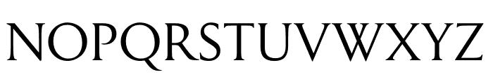 Symphony Display Regular Font UPPERCASE