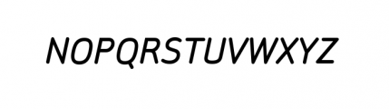 Sylvia Complete Medium Italic Font UPPERCASE