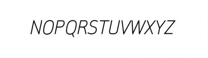 Sylvia Complete Regular Italic Font UPPERCASE