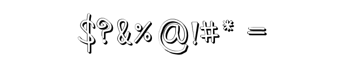 Sz-number2 Font OTHER CHARS