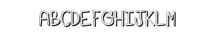 Sz-number2 Font UPPERCASE